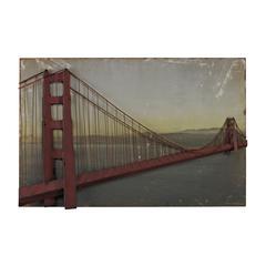 Sterling Golden Gate Bridge-Golden Gate Bridge In Set On Print