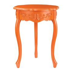 Sterling Accent Table In Orange