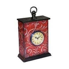 Sterling Embossed Vine Clock (1- Aa Battery Not Included)