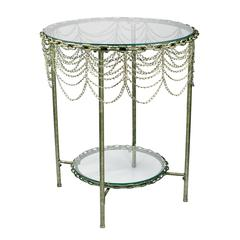 Sterling Chain Rope Table