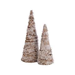 Crystal Set of 2 Trees