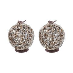 Wildlights Set of 2 Decor Orbs