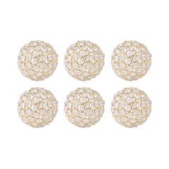 Bijoux 4-Inch Spheres - Set of 6