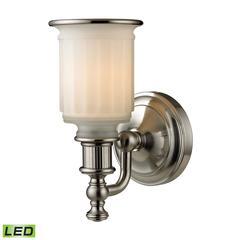 ELK lighting Acadia 1 Light LED Vanity In Brushed Nickel