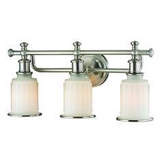 ELK lighting Acadia 3 Light Vanity In Brushed Nickel