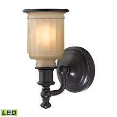 Acadia 1 Light LED Vanity In Oil Rubbed Bronze