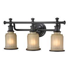 ELK lighting Acadia 3 Light Vanity In Oil Rubbed Bronze