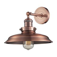 ELK lighting Newberry 1 Light Wall Sconce In Antique Copper