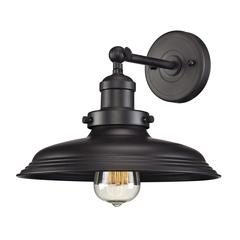 Newberry 1 Light Wall Sconce In Oil Rubbed Bronze