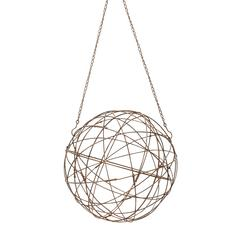 Aged Iron Wire Sphere - Small