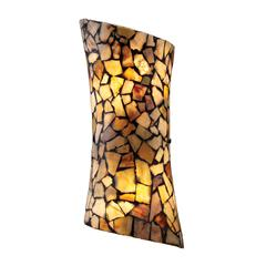 Trego 2 Light Sconce In Dark Rust