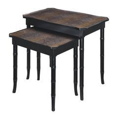 Sterling Boa Nesting Table