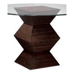 Sterling Hohner Table Base Zebrano