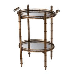 Sterling Tyrella Gold Tray Table