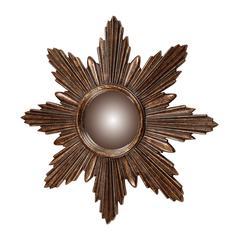 Sterling Bronze Starburst Mirror
