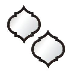 Sterling Set Of 2 Horizonte Mirror