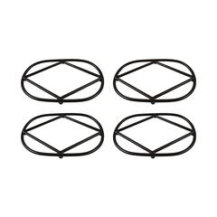 Lex Set of 4 Oval Trivets