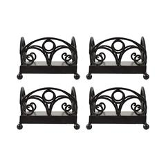 Willow Set of 4 Beverage Napkin Holders