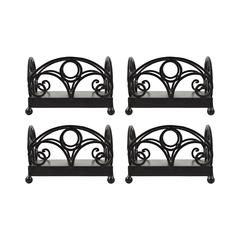 Willow Set of 4 Napkin Holders