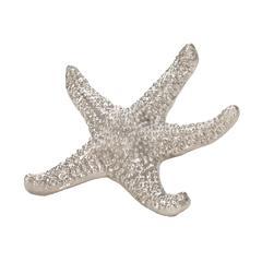 Lazy Susan Silver Sea Star - Lg