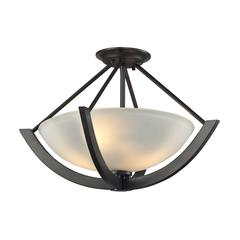 Morrison 2 Light Pendant In Oil Rubbed Bronze