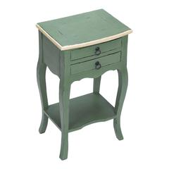 Sterling French Green & Cream Side Table