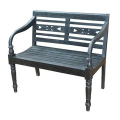 Folger Bench Restoration Black