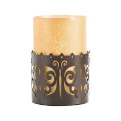 Butterfly Pillar Holder
