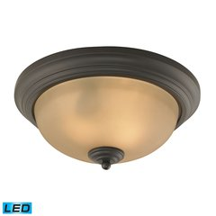 Huntington 3 Light LED Flushmount In Oil Rubbed Bronze