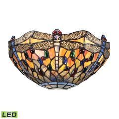 Dragonfly 1 Light LED Wall Sconce In Dark Bronze