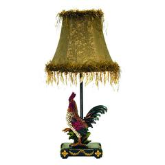 "Dimond 19"" Petite Rooster Table Lamp in Ainsworth Finish"