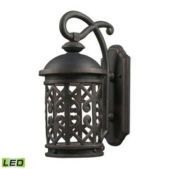 Cornerstone Tuscany Coast - LED 1 Light Exterior Wall Mount In Weathered Charcoal