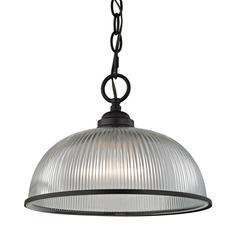 Liberty Park 1 Light Pendant In Oil Rubbed Bronze