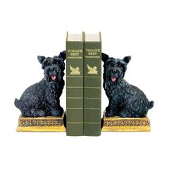 Sterling Pair of Baron Bookends