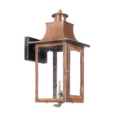 ELK lighting Maryville Outdoor Gas Wall Lantern Aged Copper