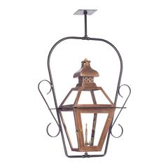 ELK lighting Bayou Outdoor Gas Ceiling Lantern In Aged Copper