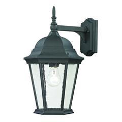 Cornerstone Temple Hill Coach Lantern In Matte Textured Black