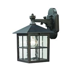 Shaker Heights 1 Light Outdoor Wall Sconce In Hazelnut Bronze