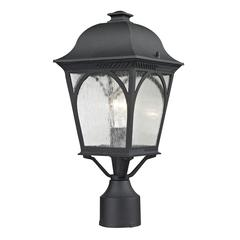 Cape Ann 1 Light Outdoor Pendant Lantern In Matte Textured Black