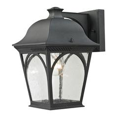 Cornerstone Cape Ann 1 Light Outdoor Coach Lantern In Matte Textured Black