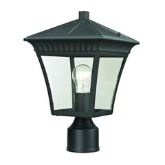 Cornerstone Ridgewood Post Lantern In Matte Textured Black