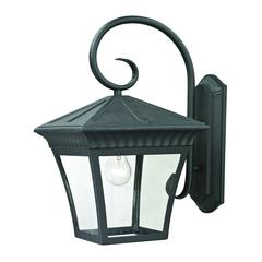Ridgewood 1 Light Exterior Coach Lantern In Matte Textured Black
