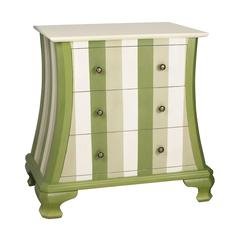 Green Chevron Chest