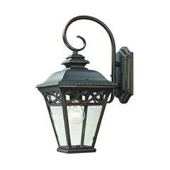 Cornerstone Mendham 1 Light Exterior Coach Lantern In Hazelnut Bronze