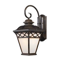 Cornerstone Mendham 1 Light Coach Lantern  In Hazelnut Bronze