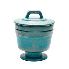 Metallic Patina Vase - Medium