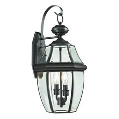 Ashford 2 Light Exterior Coach Lantern In Oil Rubbed Bronze