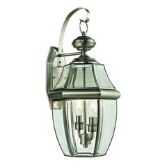 Cornerstone Ashford 2 Light Exterior Coach Lantern In Antique Nickel
