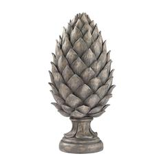 Sterling Aged Grey Pine Cone