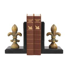 Sterling Pair Regal Finial Bookends